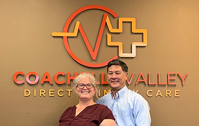 Dr. Krista & Dr. Mike of Coachella Valley Direct Primary Care